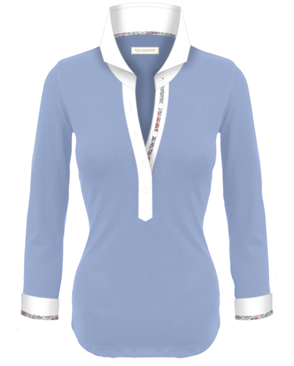 81a62924a3 Polo Femmes Manches Longues Polo Collector - Votre polo femme sur ...